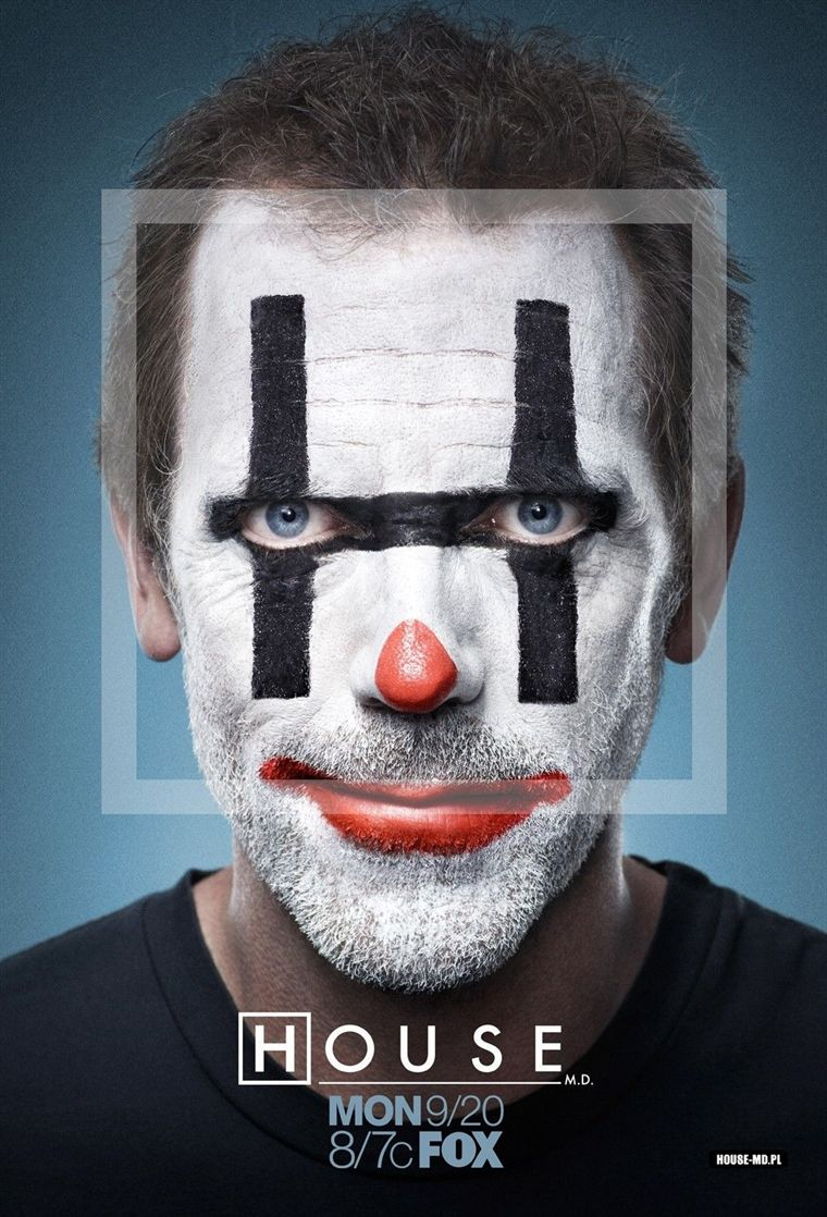 DESSINE-MOI UN AVATAR Docteur-House-Hugh-Laurie-Clown