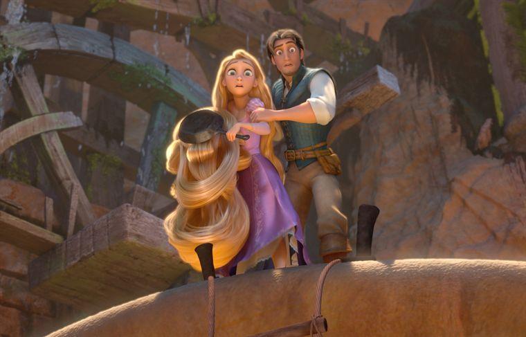 Avis raiponce une princesse la chevelure longue tr s longue vu par disney new kids on - Raiponce et flynn rider ...