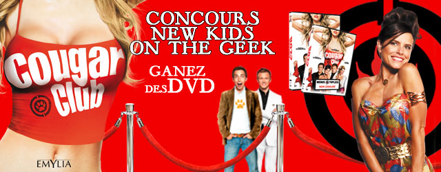 cougar club 10 dvd gagner new kids on the geek. Black Bedroom Furniture Sets. Home Design Ideas