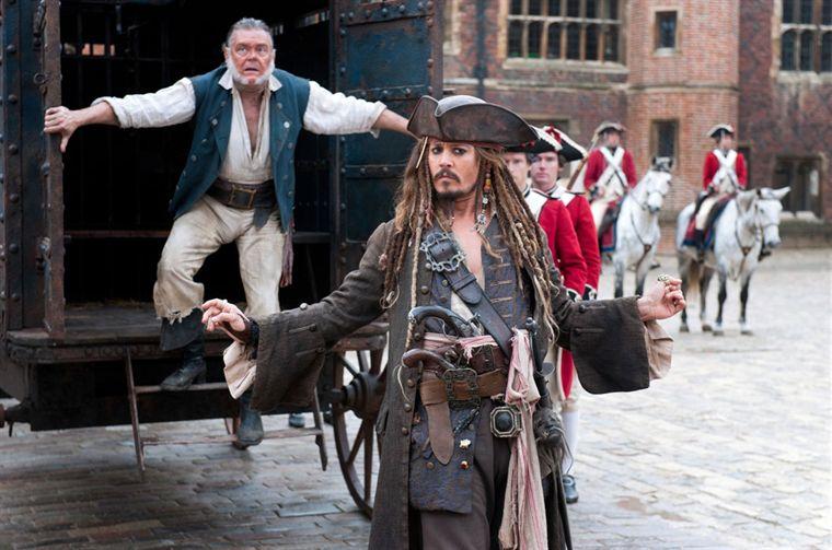 Pirates des Caraïbes 4 Jack Sparrow et son second