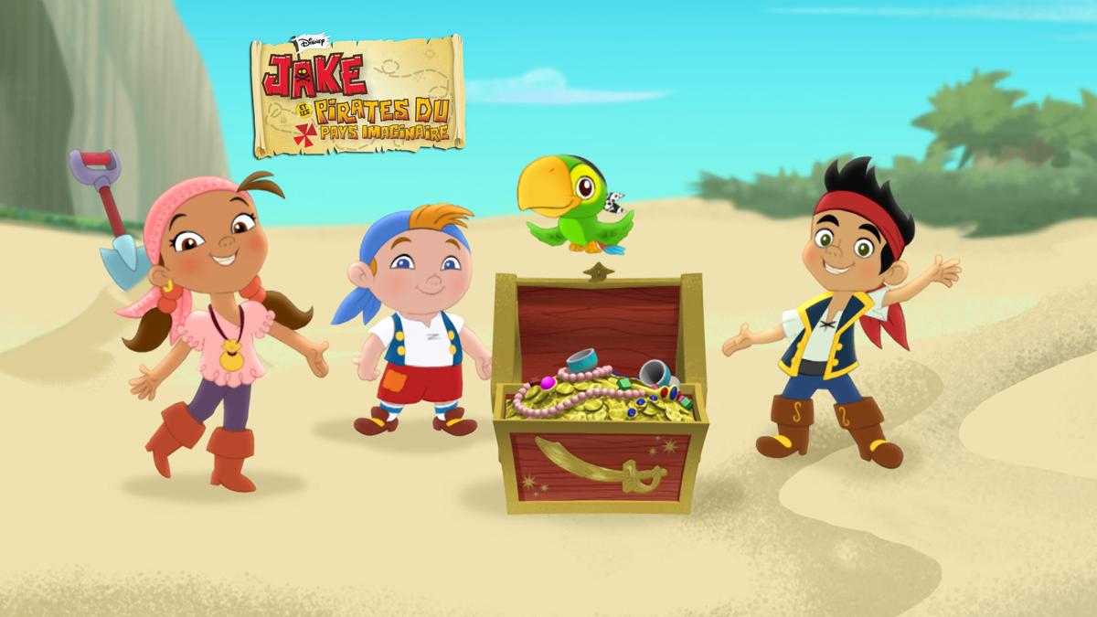 S ries jake et les jake et les pirates du pays - Jack et le pirate ...