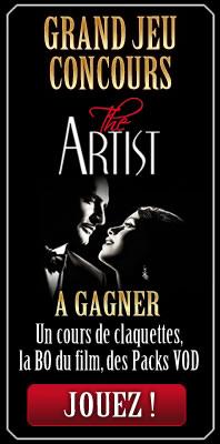 Concours the artist apprenez faire des claquettes avec for Claquette jean dujardin