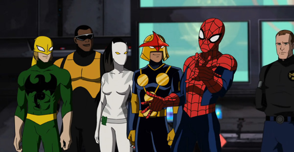 Ultimate spider man disney xd characters - photo#12