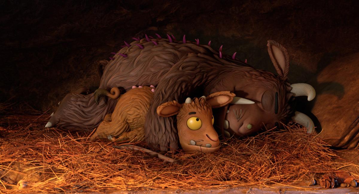 Le petit Gruffalo et son papa