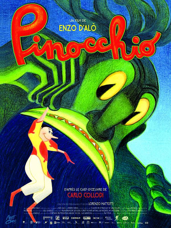 Pinocchio - affiche- Gebeka Films