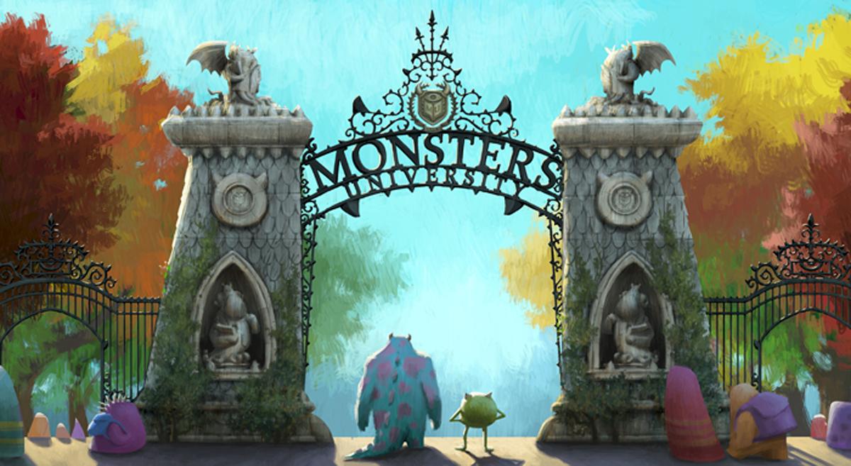 Monstres academy Disney Sully et Bob