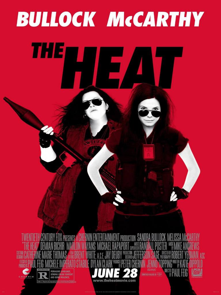 Affiche VO The Heat Les Flingueuses Bullock et McCarthy