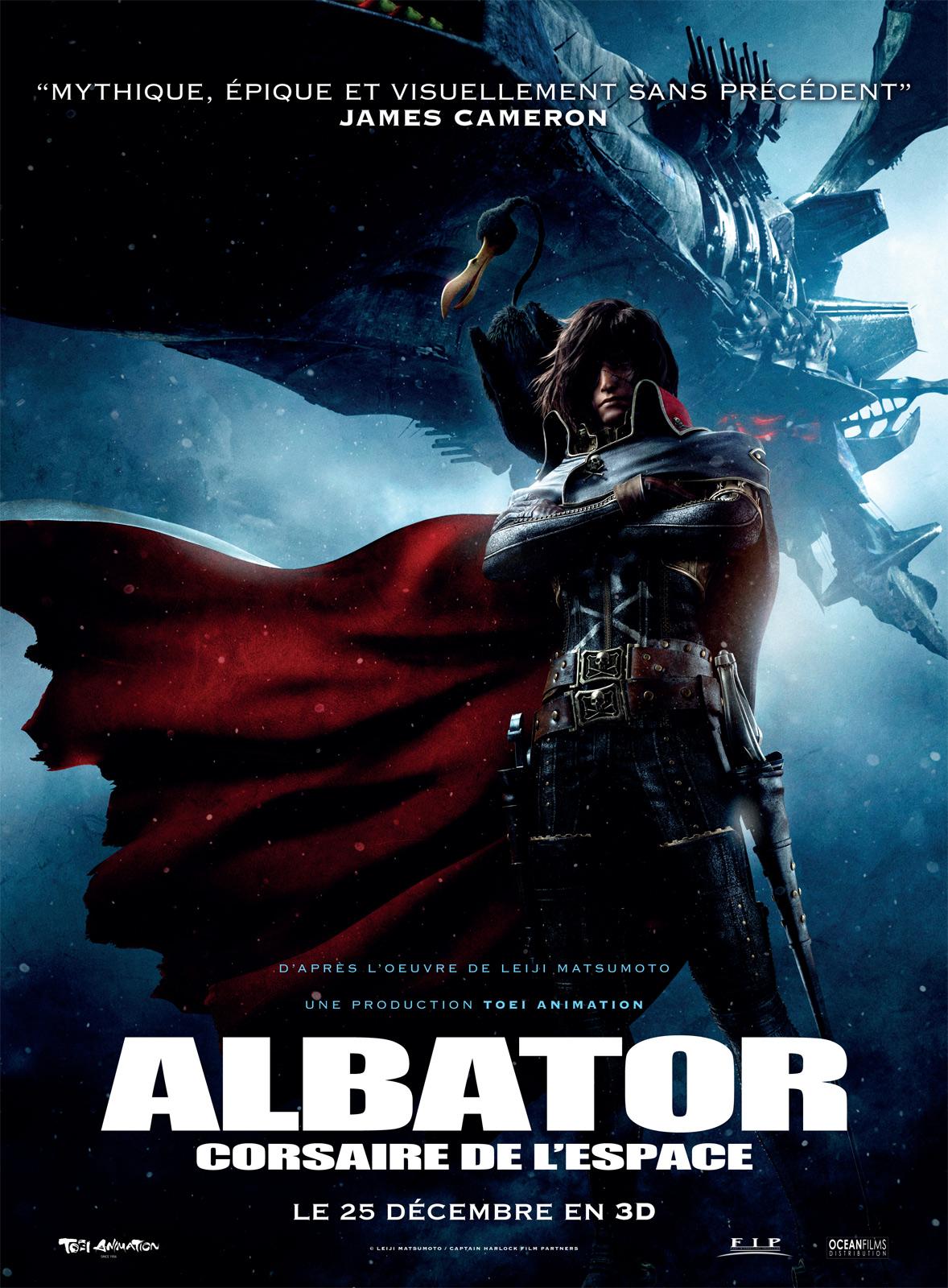 Albator, Corsaire de l'Espace - Affiche