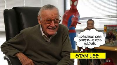 Derrière le masque des super-héros Launier Documentaire Disney XD Stan Lee