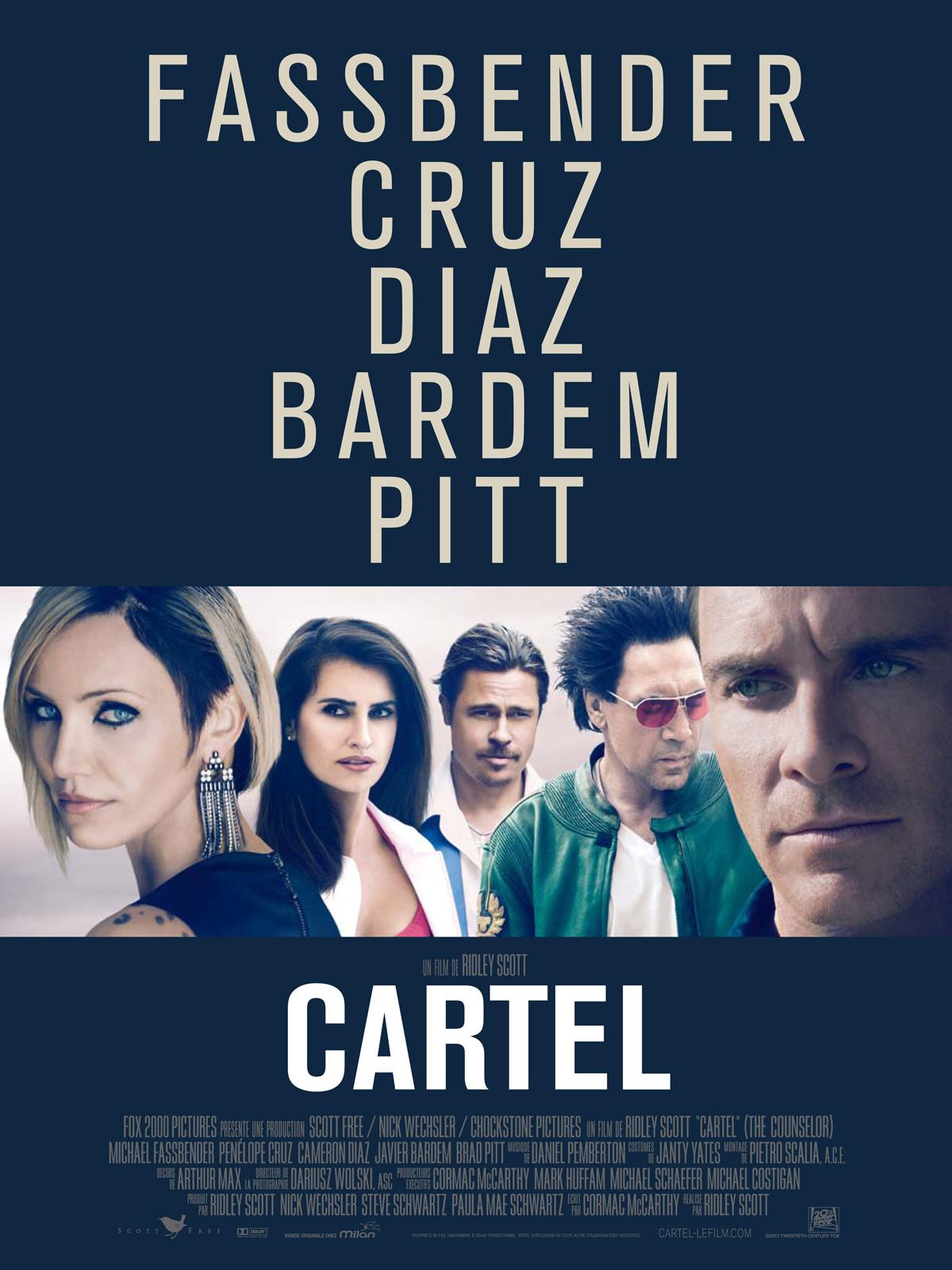 Cartel Affiche Michael Fassbender, Penélope Cruz, Cameron Diaz
