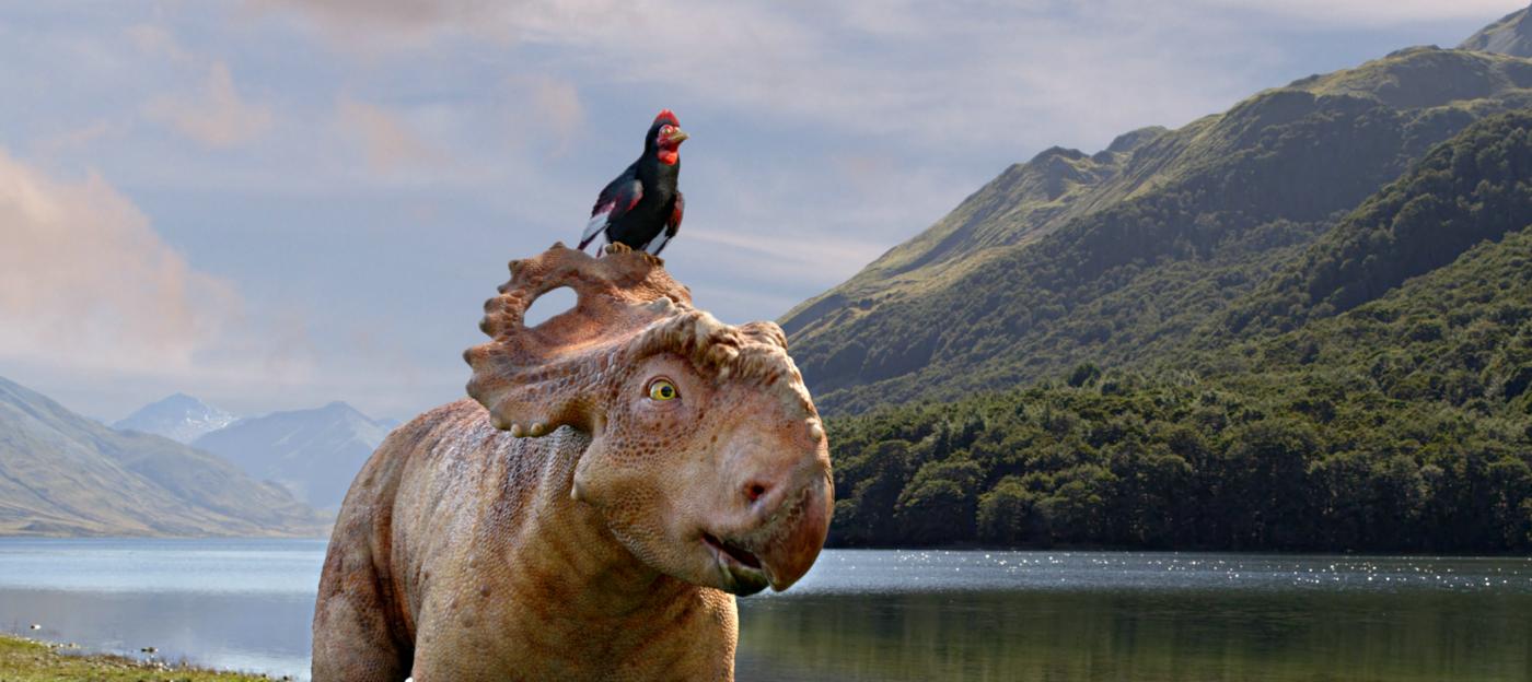 Sur la terre des dinosaures, le film 3D - Photo Patchi et Alex