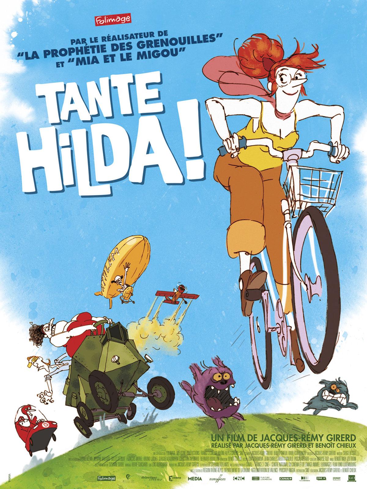 Affiche Tante Hilda! de Jacques Rémy Girerd