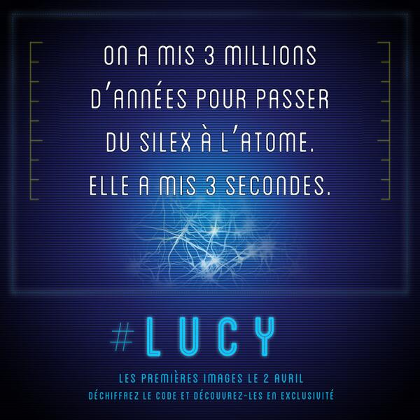 1er indice Lucy de Luc Besson