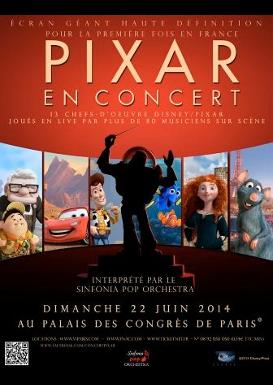 Pixar en Concert 22 juin 2014
