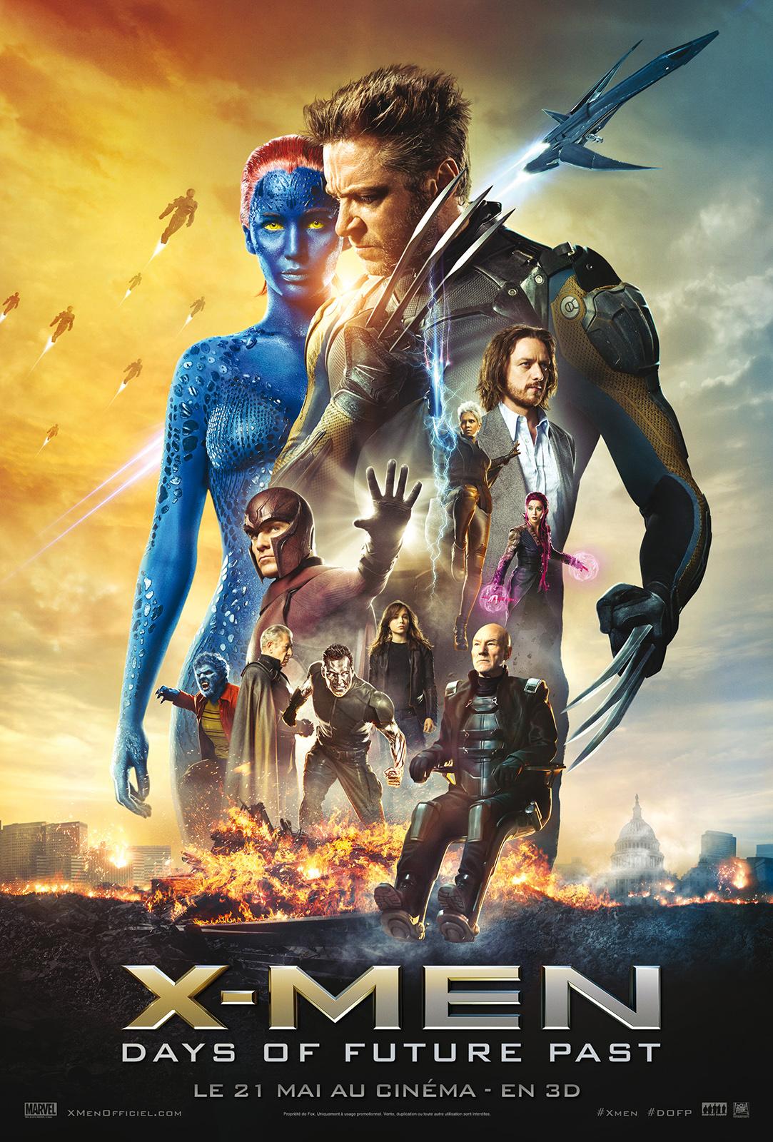 X-Men- Days of Future Past de Bryan Singer- Affiche