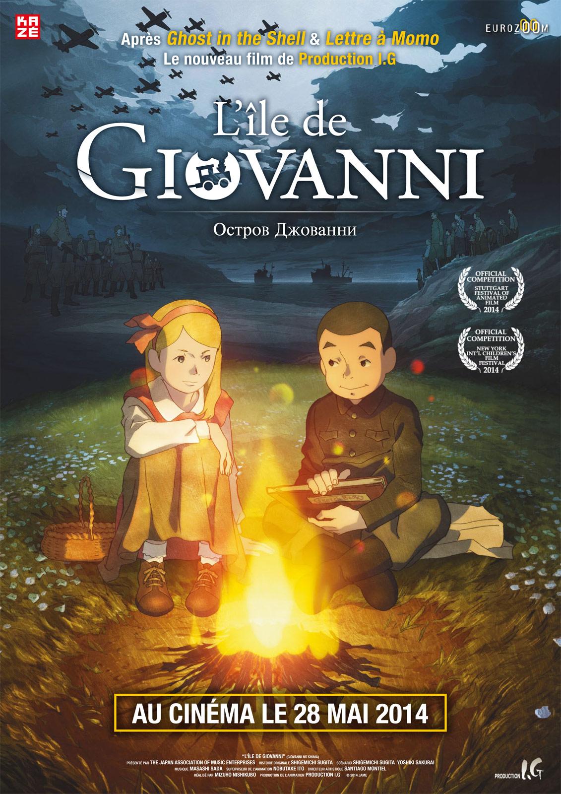 L'Île de Giovanni - Affiche