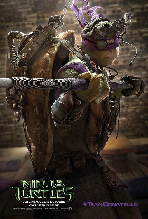NINJA TURTLES - Affiche_Donatello