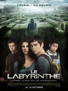 Le Labyrinthe - Affiche- VF- Wes Ball- The Maze Runner
