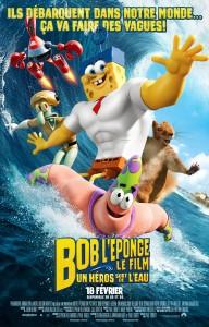 Bob l'éponge - Le film - Un héros sort de l'eau - Affiche