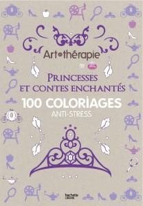 Couverture Art Thérapie princesses et contes enchantés