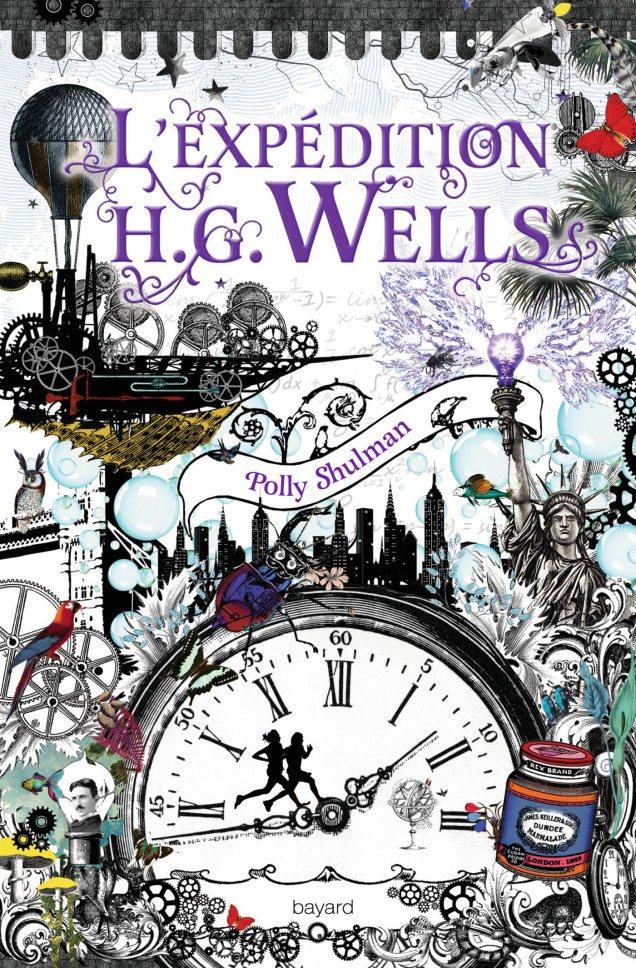 [Book Tag]Un livre acheté pour sa couverture mais qui vous a déçu La-malédiction-Grimm-Tome-2-Expédition-H.G.-Wells-de-Polly-Shulman
