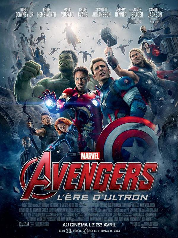 Avengers - L'ère d'Ultron - Affiche