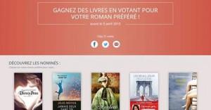 Prix des Lectrices 2015 Editions Milady