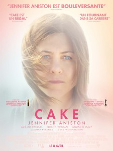 Cake - Affiche Jennifer Aniston