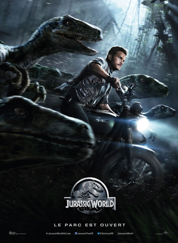 Jurassic World - Affiche-Chris Pratt