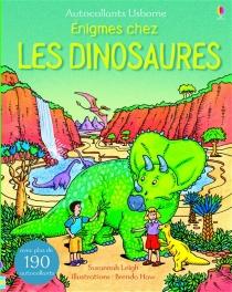 Enigmes chez les Dinosaures Autocollants Usborne