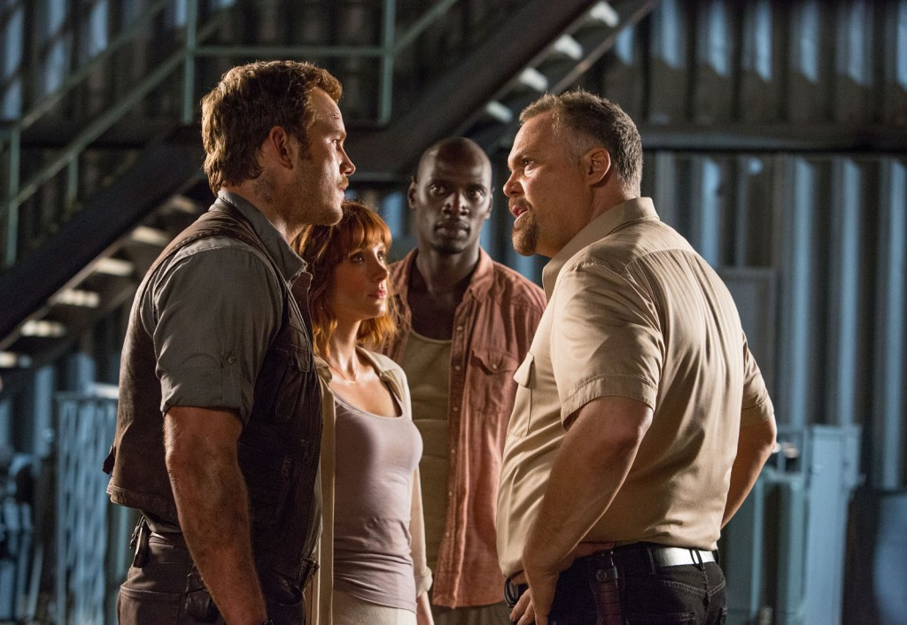 Jurassic World - Photo Bryce Dallas Howard, Chris Pratt, Omar Sy, Vincent D'Onofrio