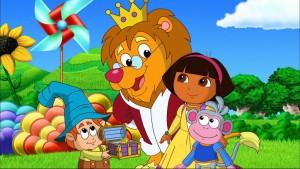 Dora au secours du pays des contes de fées