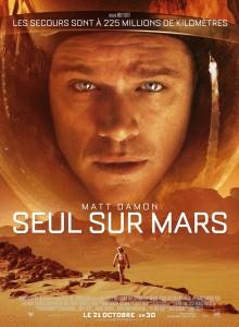 Affiche Matt Damon Seul sur Mars de Ridley Scott