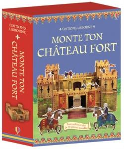Monte ton château fort castle box editions usborne