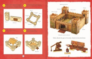 instructions monte ton chateau fort editions usborne